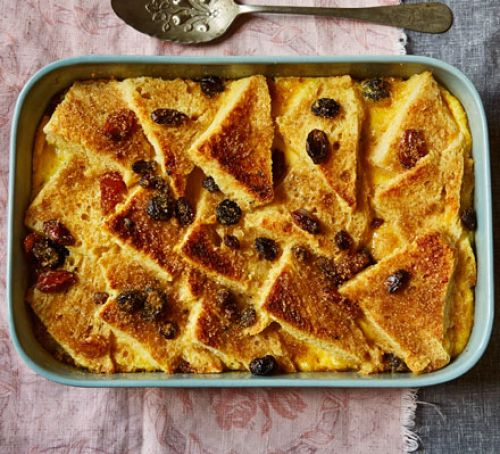 Bread and Butter Traditional British Pudding