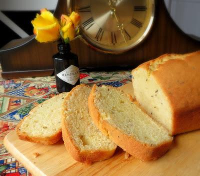 Caraway Seed Cake Traditional British Dessert