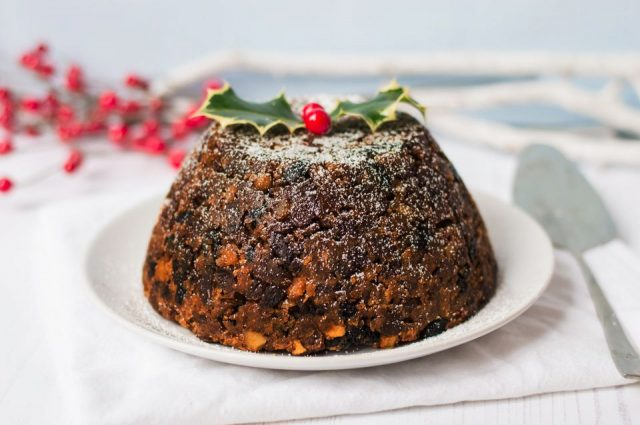 Christmas Pudding British Christmas Dessert