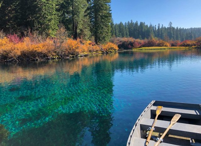 Clear Lakes in Western Oregon
