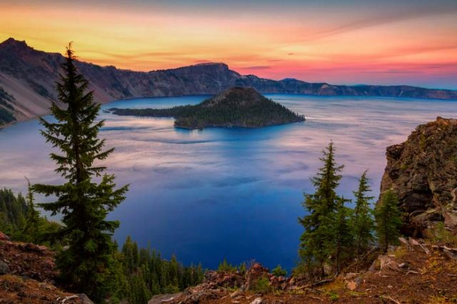 Crater Lakes in Southern Oregon