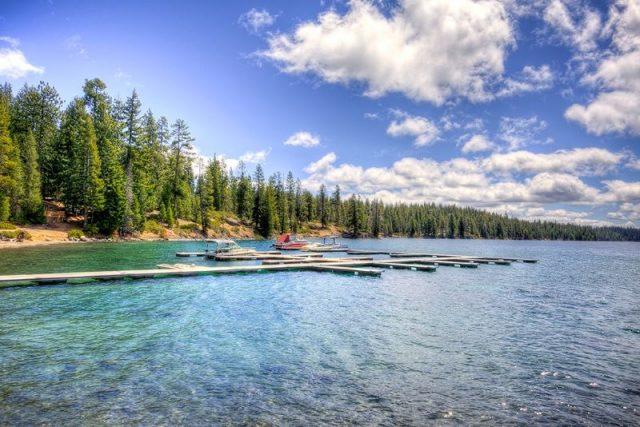 Crescent Lake in Oregon