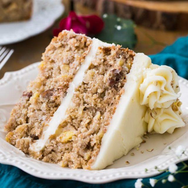 Hummingbird Cake American Christmas Dessert