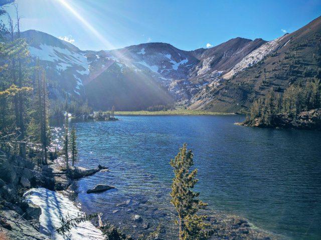 Ice Lakes in Oregon
