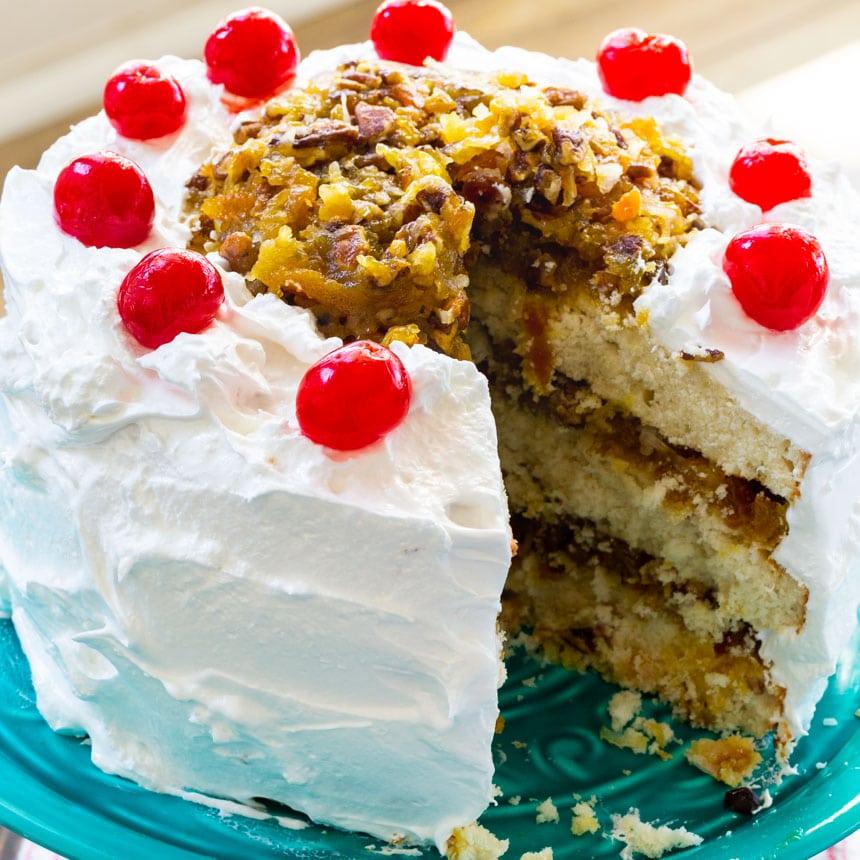 Lane Cake South American Desserts