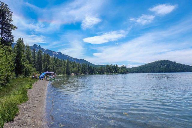 Paulina Lakes in Oregon
