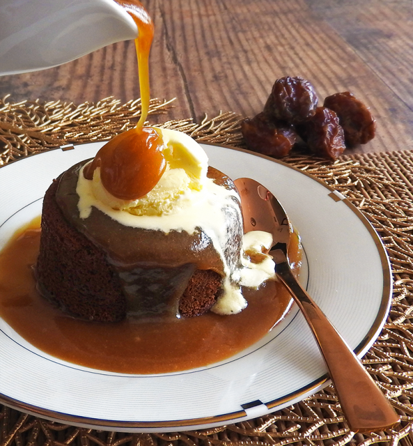 Sticky Toffee Pudding English Cake and Dessert