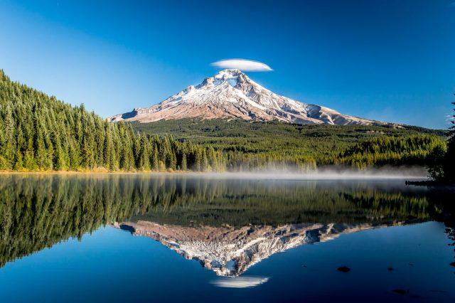 Trillium Lakes in Oregon