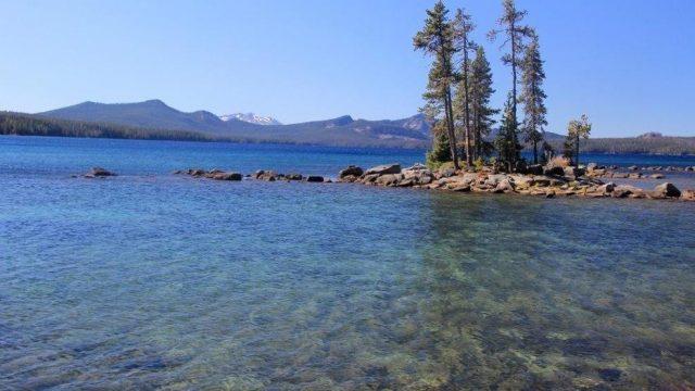 Waldo Lakes in Western Oregon