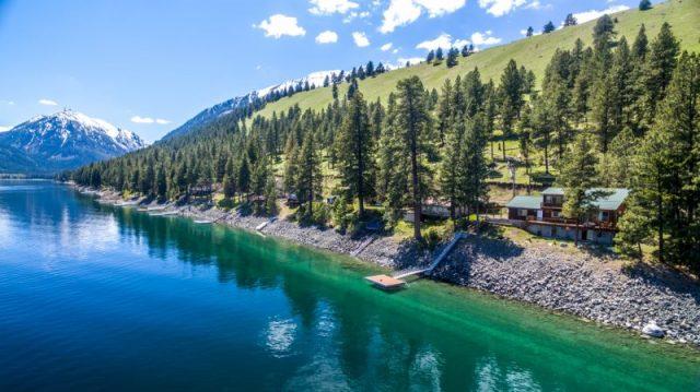Wallowa Lakes in Northern Oregon