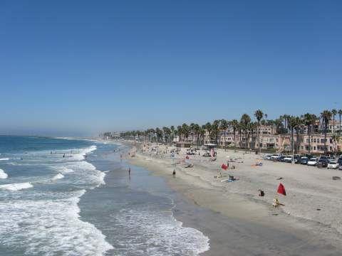Beach Camping San Diego