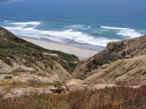 Black's Beach Camping Near San Diego CA
