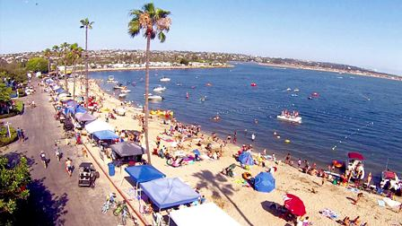 Campland on the Bay San Diego Beach Camping