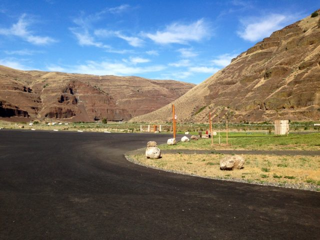 Cottonwood Canyon State Park Campgrounds in Oregon