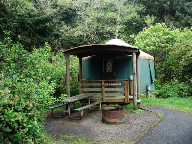 Devil's Lake State Recreation Area Lincoln County in Oregon