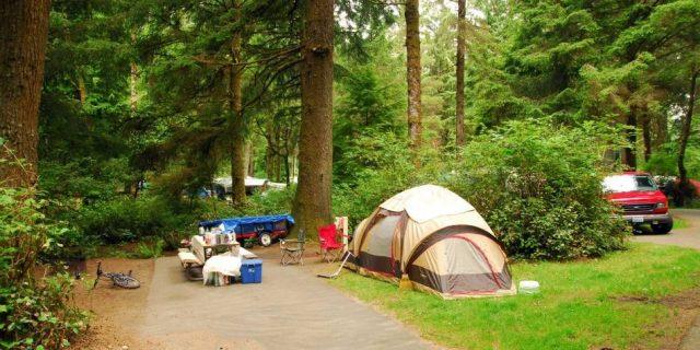 Fort Stevens State Park Camping in Astoria in Oregon