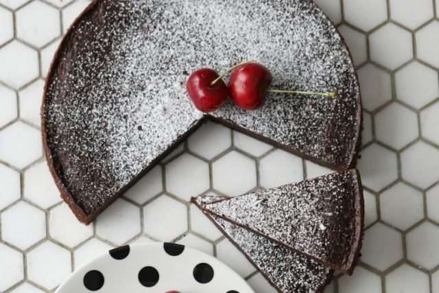 Kladdkaka Swedish Dessert