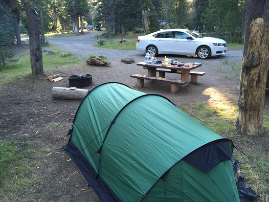 Mazama Village Campground Place to Camp in Oregon