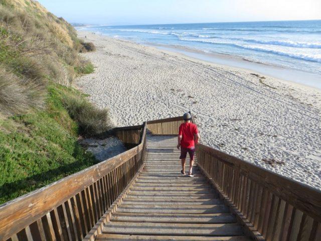 San Elijo Beach Camping San Diego County