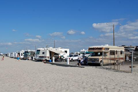 Silver Strand Beach Camping San Diego