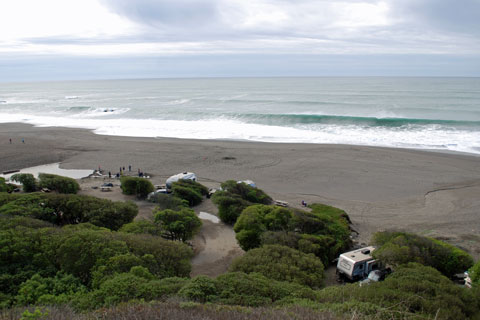 Sonoma Coast State Park Camping Spots in Northern California