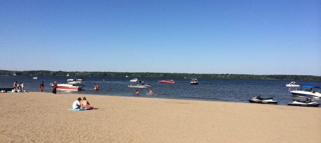 Alum Creek Beach Closest Beach to Columbus Ohio