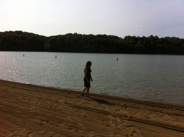 Burr Oak Beach in Ohio