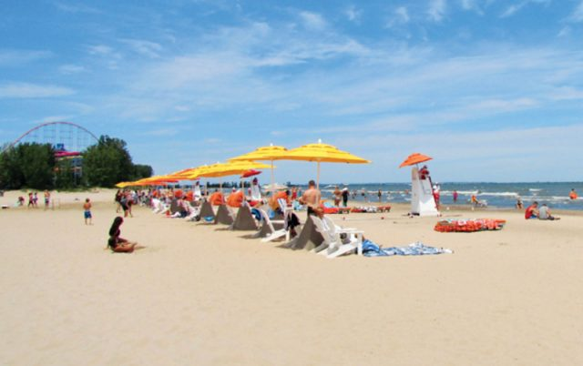 Cedar Point Beach Ohio