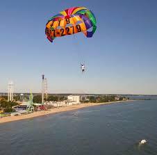 Cedar Point Public Beaches in Sandusky Ohio
