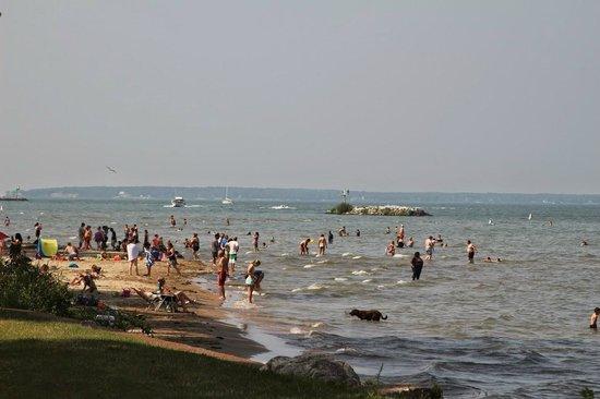 East Harbor State Park Beaches in Northeast Ohio