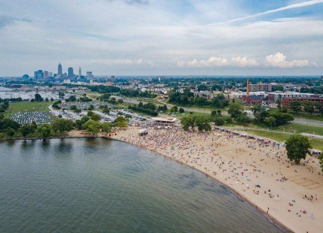 Edgewater Ohio Beach