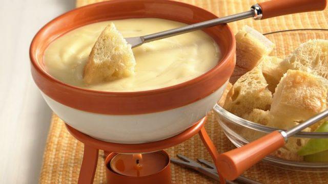Fondue Popular Food in Switzerland