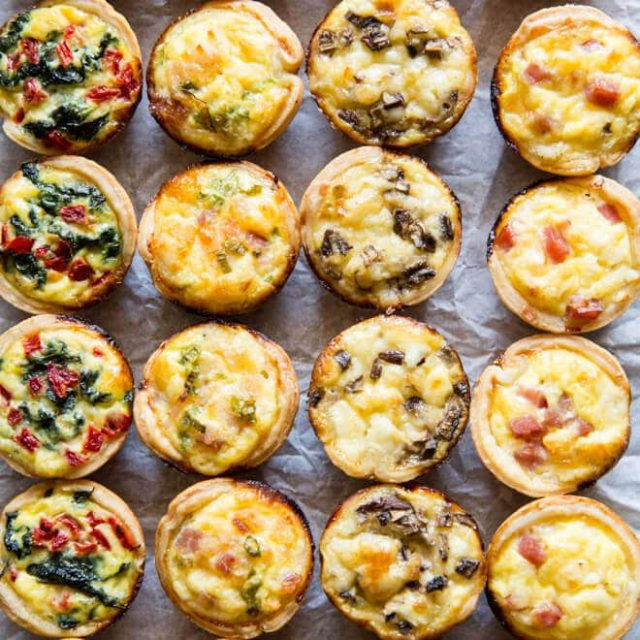 Quiches Traditional Swiss Food