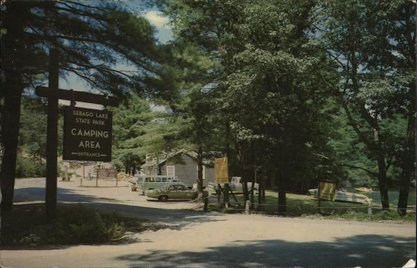 Sebago Lake State Park Place to Camp in Maine