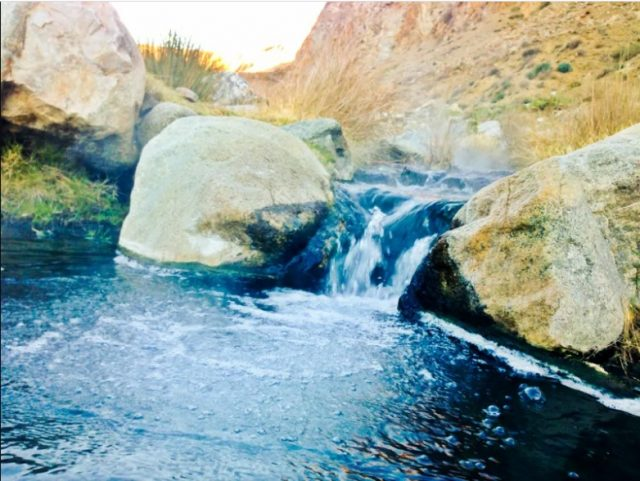 Sespe Free Hot Springs California