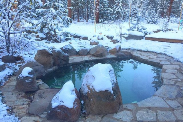 Sierra California Hot Springs Healing