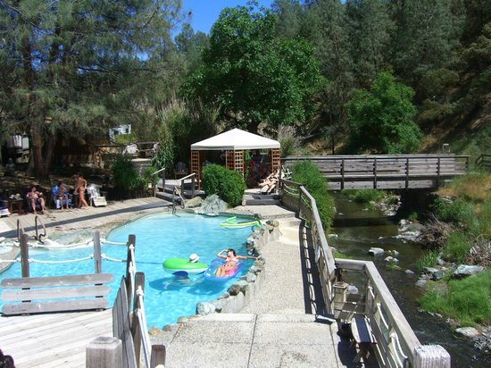 Wilbur Hot Springs In California