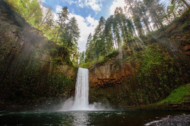 Abiqua Hidden Waterfalls