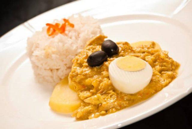 Aji de Gallina Popular Peruvian Food