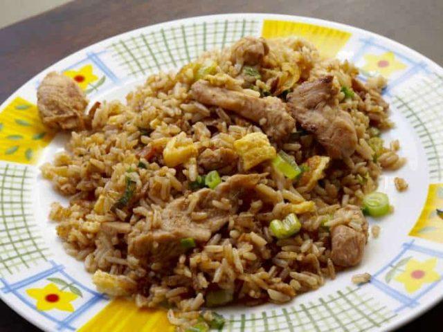 Arroz Chaufa Peruvian Chinese Food