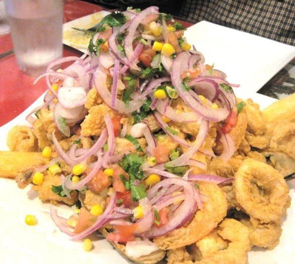 Jlalea Peruvian Seafood Dish