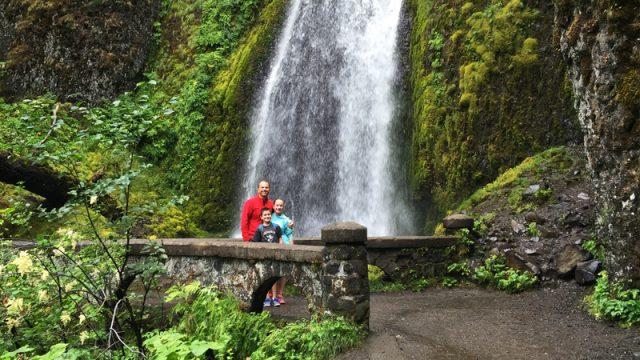 Northern Oregon Wahkeena Waterfall
