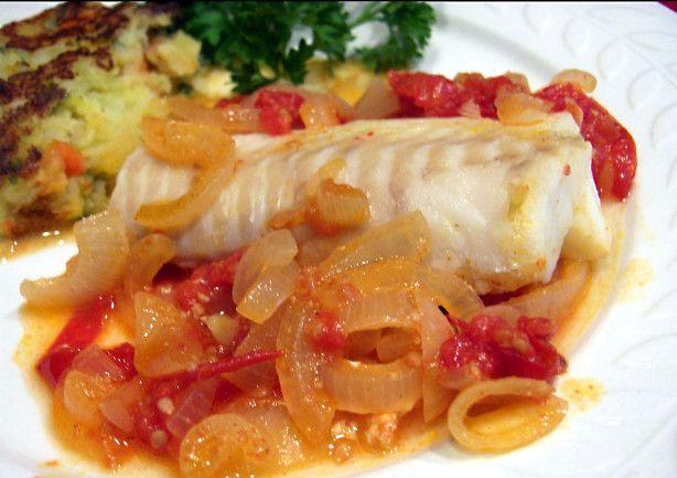 Pescado Sudado Peruvian Fish Dish