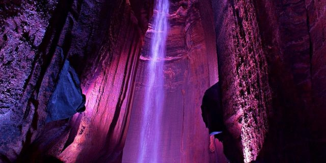 Ruby Falls Best Caves in Tennessee
