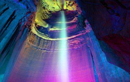 Ruby Falls Cave in Tennessee