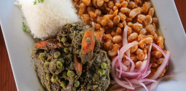 Seco Peruvian Beef Dish