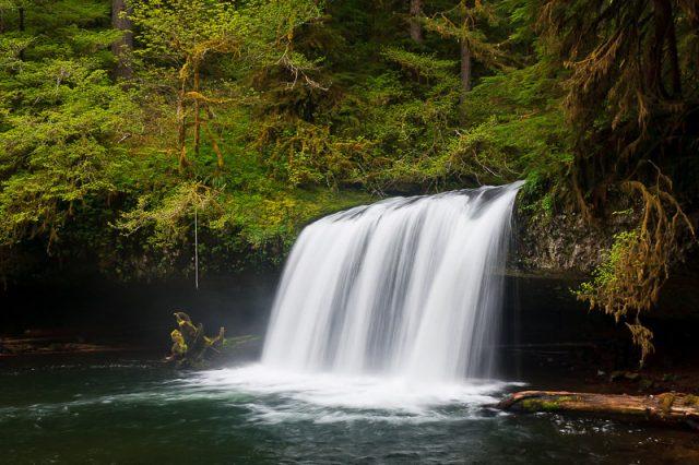 Secret Upper Butte Creek Falls