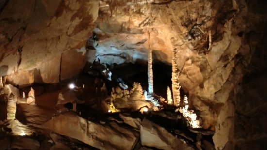 Tuckaleechee Caverns in Tennessee