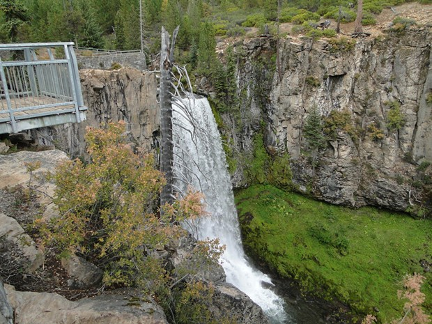 Tumalo Waterfall in Central Oregon