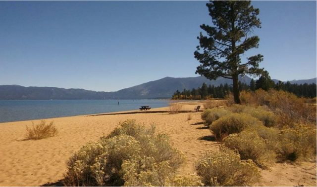 Baldwin Beach in South Lake Tahoe